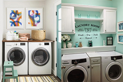 Laundry Rooms Makeover